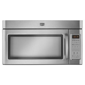Stainless Steel Maytag® 2.0 cu. ft. Over-the-Range Microwave With 10-Year Warranty (CLEARANCE 2925)