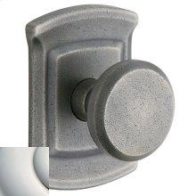 Polished Nickel with Lifetime Finish 5023 Estate Knob