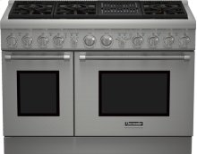 48 inch Professional Series Pro Harmony Standard Depth All Gas Range PRG486NLH