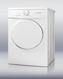 220V front-loading dryer, made in Europe