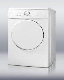 220V front-loading dryer, made in Europe