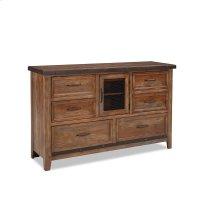 Bedroom - Taos Six Drawer Dresser w/Door Product Image