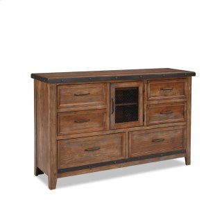 Bedroom - Taos Six Drawer Dresser w/Door