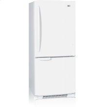 Bottom-Freezer Refrigerator with Swing Freezer Door (19.7 cu.ft.)