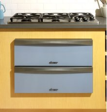 "Preference 30"" Warming Drawer, with Glass Front Panel in Titanium Silver"