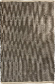 5'x8' Size Two Tone Jute Rug