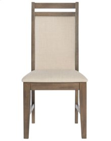 Upholstered Side Chair Pewter