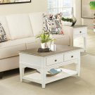 Myra - Small Leg Coffee Table - Natural/paperwhite Finish Product Image
