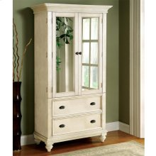 Coventry Two Tone - Armoire - Dover White Finish