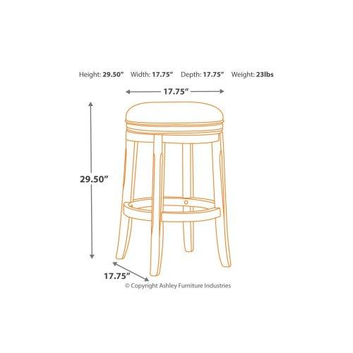Tall UPH Swivel Stool (2/CN)