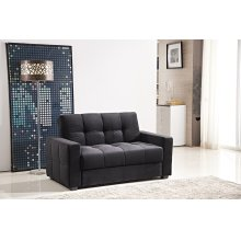 7578 Black Loveseat