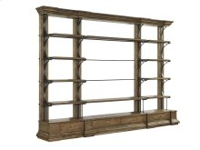 """Cambrion Occasional Bookcase 55"""" Shelving Unit"""