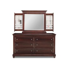 Florentino 6 Deep Drawer Long Dresser