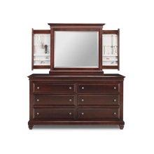 Florentino 6 Deep Drawer Long Dresser