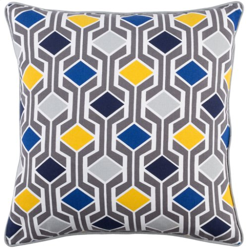 "Inga INGA-7032 18"" x 18"" Pillow Shell with Down Insert"