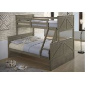 3016 Ashland Twin/Full Bed w/Dresser and Mirror