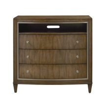 Rumi 3 Drawer Media Chest