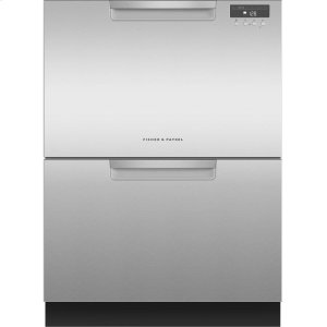 Double DishDrawer Dishwasher, 14 Place Settings - EZKLEEN STAINLESS STEEL