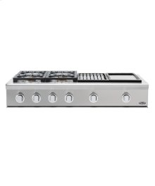 "48"" DCS Pro Cooktop W/Grill & Griddle"