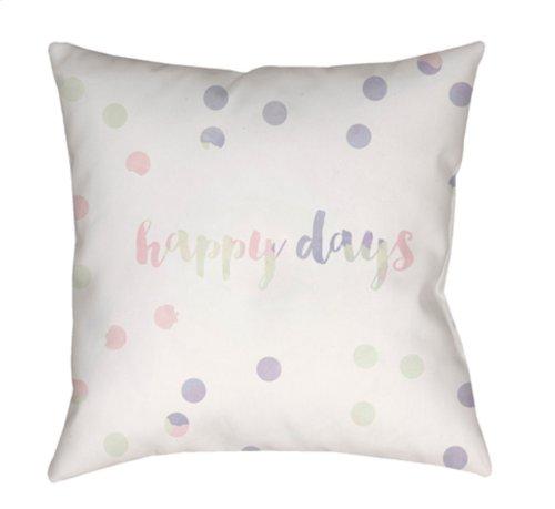 "Happy Days QTE-037 18"" x 18"""