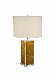 Michel Olive Ash Burl Table Lamp