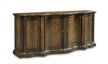 Continental Shaped Sideboard - Weathered Nutmeg