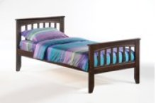 Sasparilla Bed in Dark Chocolate Finish