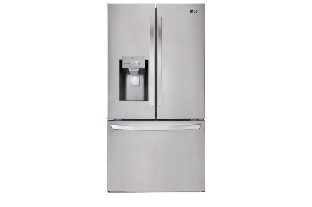 26 cu. ft. Smart wi-fi Enabled French Door Refrigerator  STAINLESS STEEL
