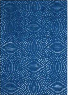 Vita Vit11 Blue Rectangle Rug 5' X 7'