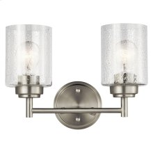 Winslow Collection Winslow 2 Light Bath Light NI
