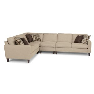 FLEXSTEELRiver Fabric Sectional