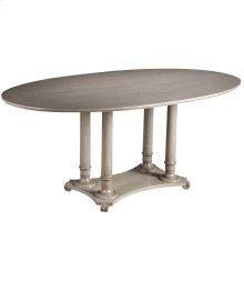 "LaScala 72"" Oval Table"