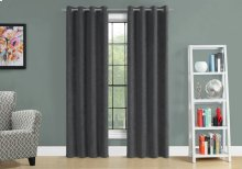"CURTAIN PANEL - 2PCS / 54""W X 84""H GREY ROOM DARKENING"