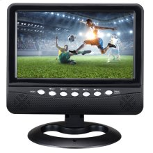 """9"""" Rechargeable LCD TV"""