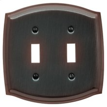 Venetian Bronze Colonial Double Toggle