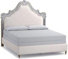 Swirl King Venetian Upholstered Bed