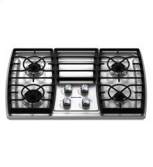 30-Inch 4 Burner Gas Cooktop, Architect® Series II - Stainless Steel