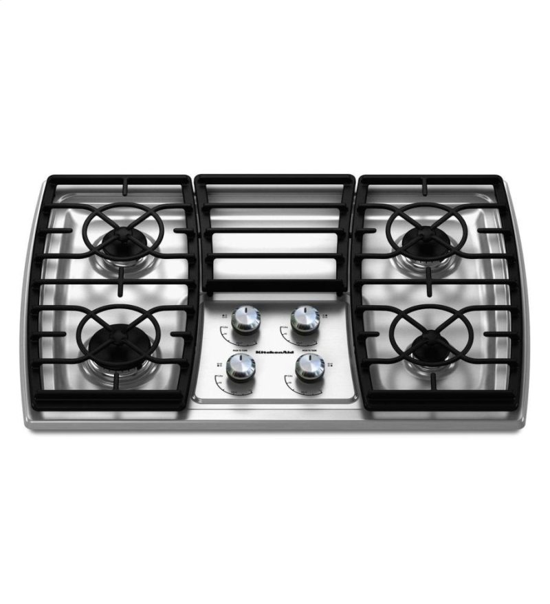 Superb 30 Inch 4 Burner Gas Cooktop Architect Series Ii Stainless Steel Interior Design Ideas Tzicisoteloinfo