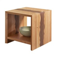 Waterfall Wavy End Table