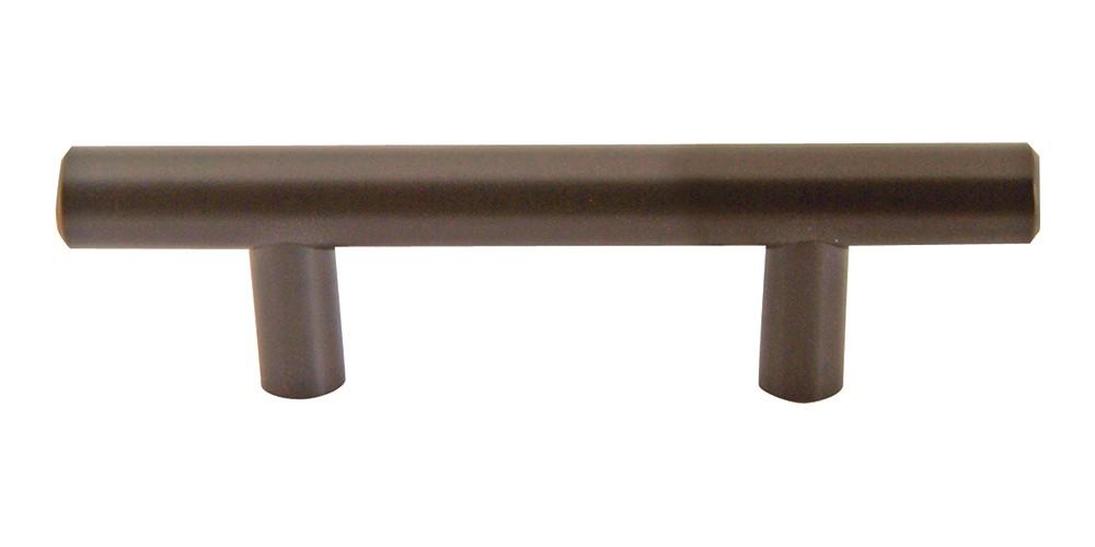 Linea Rail Pull 3 Inch (c-c) - Aged Bronze