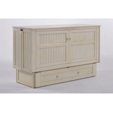 Daisy Murphy Cabinet Bed in Buttercream Finish