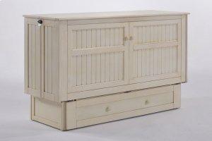 Daisy Murphy Cabinet Bed in Buttercream Finish