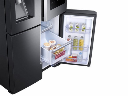28 cu. ft. Capacity 4-Door Flex Refrigerator with Family Hub - Floor Model