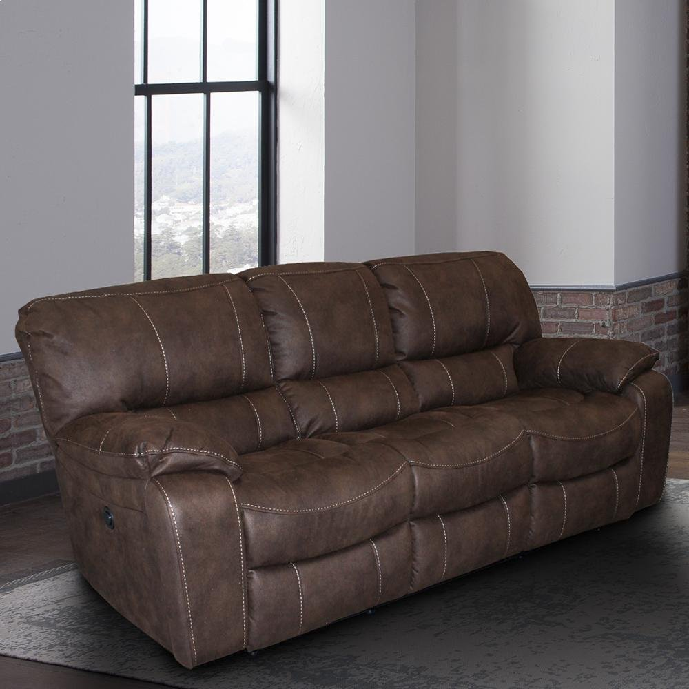 Jupiter Dark Kahlua Manual Sofa
