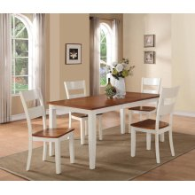 7 Piece Dining - Dining Table and Six Side Chairs