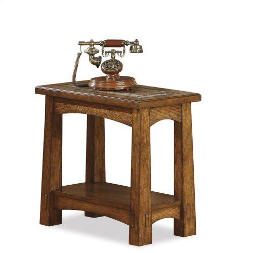 Craftsman Home - Chairside Table - Americana Oak Finish