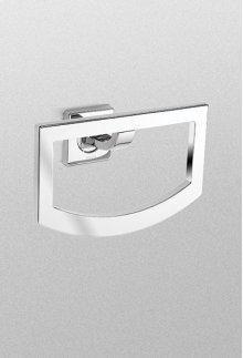 Polished Chrome Aimes® Towel Ring
