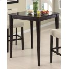Transitional Cappuccino Bar Table Product Image