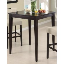 Transitional Cappuccino Bar Table