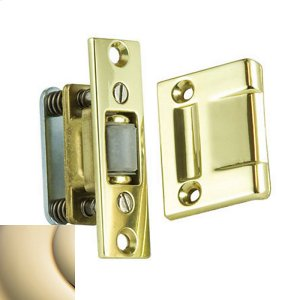 Lifetime Polished Brass Roller Latch Product Image